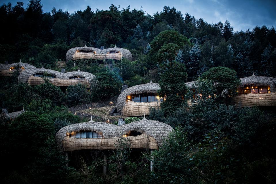 Bisate Lodge sustainable safari eco lodge