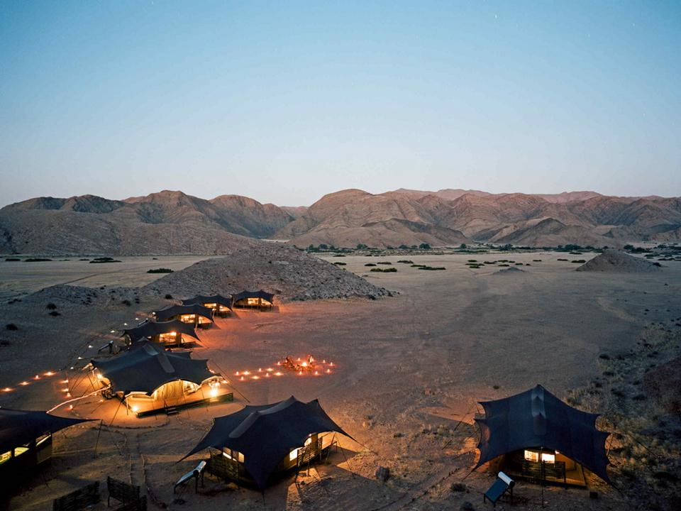 Honaib Valley Camp