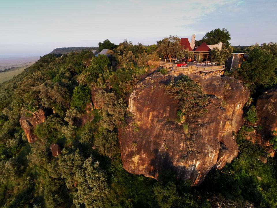 Angama Mara sustainable Africa lodge safari