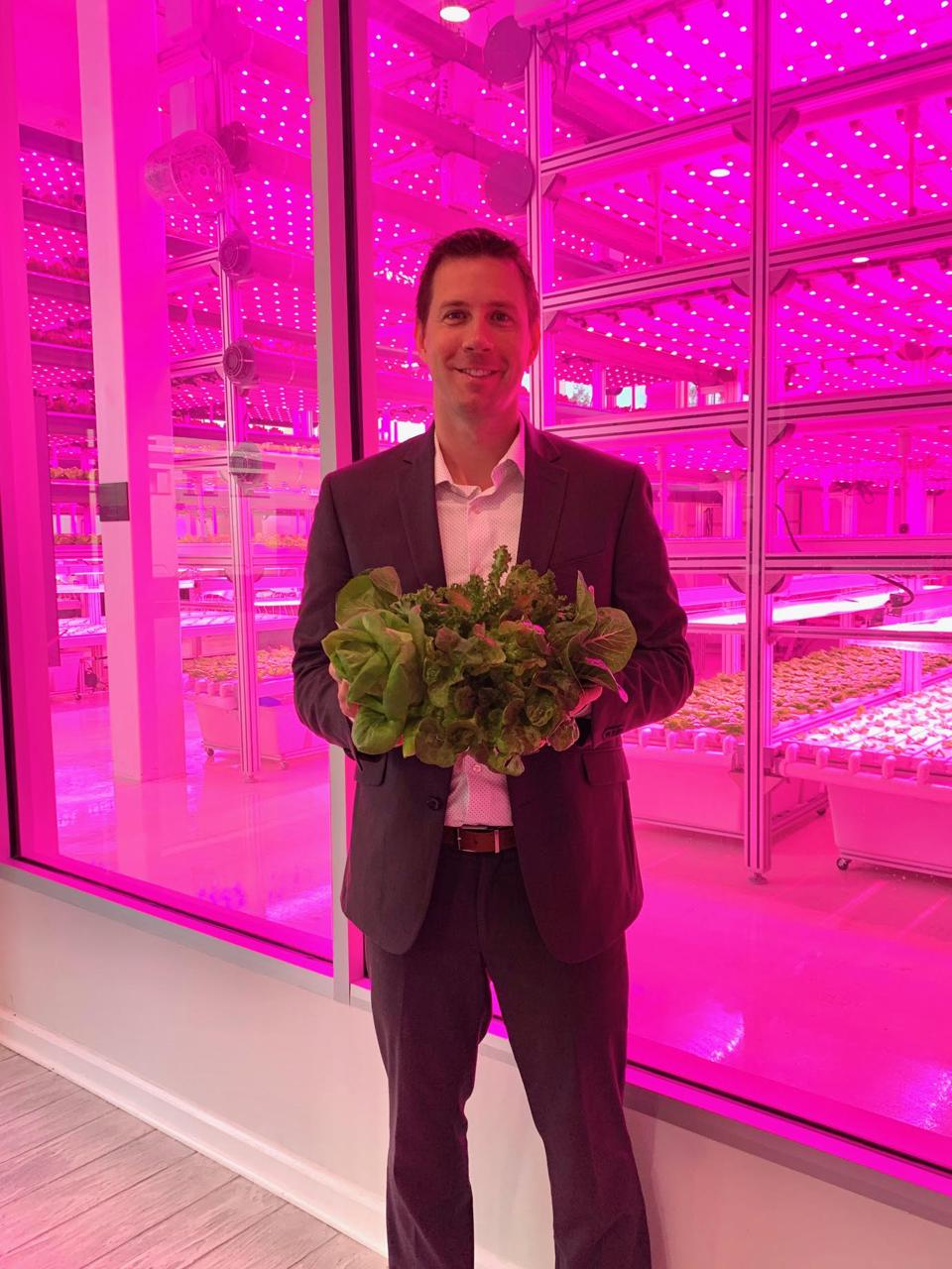 This Ain't Your Grandfather's Lettuce: The Farm Of The Future
