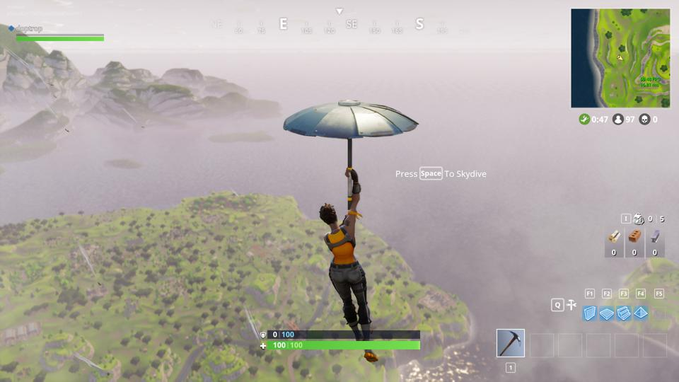 'Fortnite' Chapter 2, Season 2 Victory Royale Umbrella Revealed And It's Very Cool