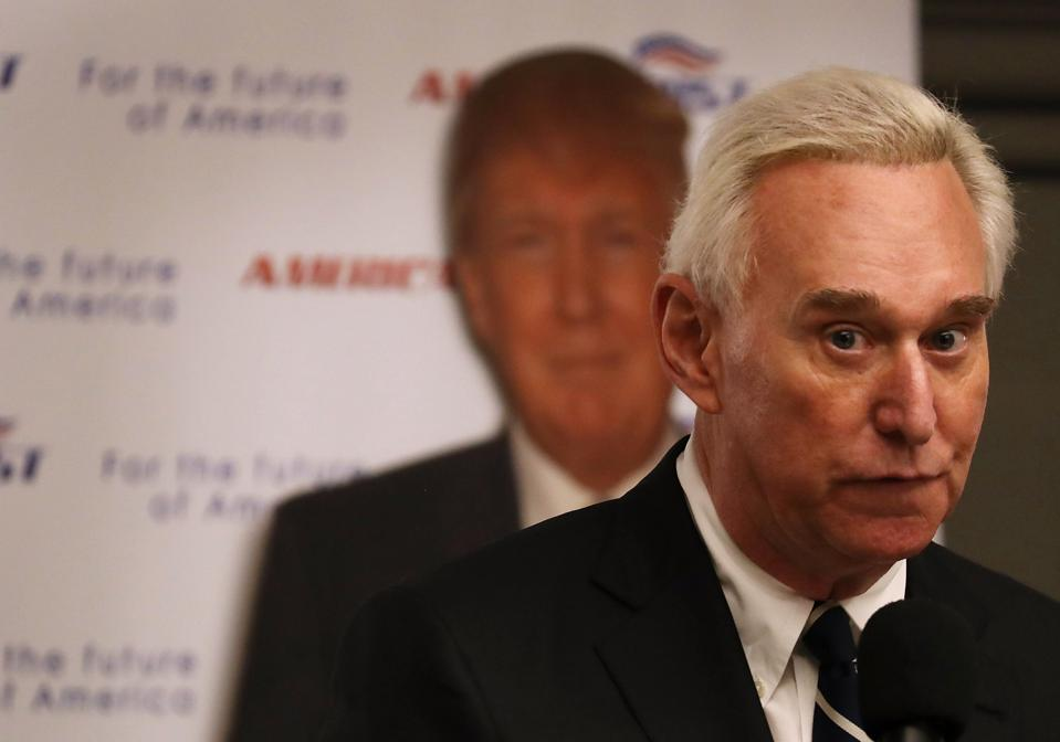 Roger Stone Gets 40 Months In Jail While Trump Dangles A Possible Pardon