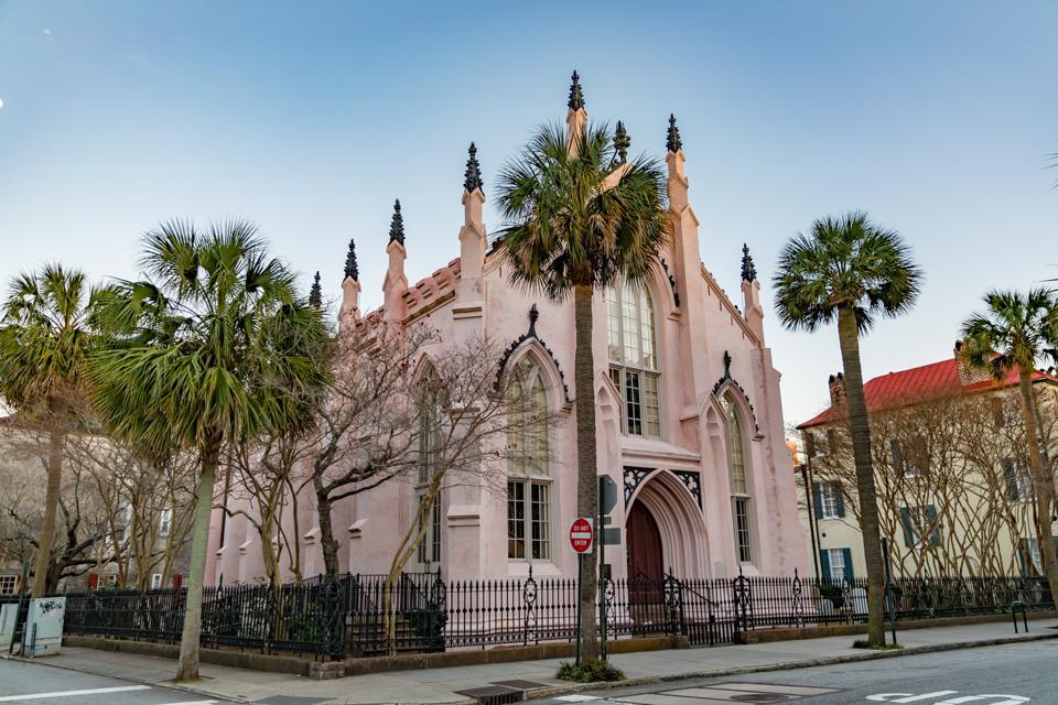 Charleston, SC - View of a church in Charleston, SC