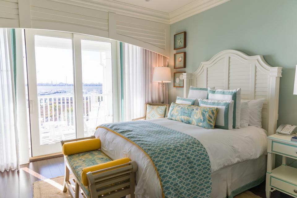 Charleston, SC - A room at the Charleston Harbor Resort & Marina