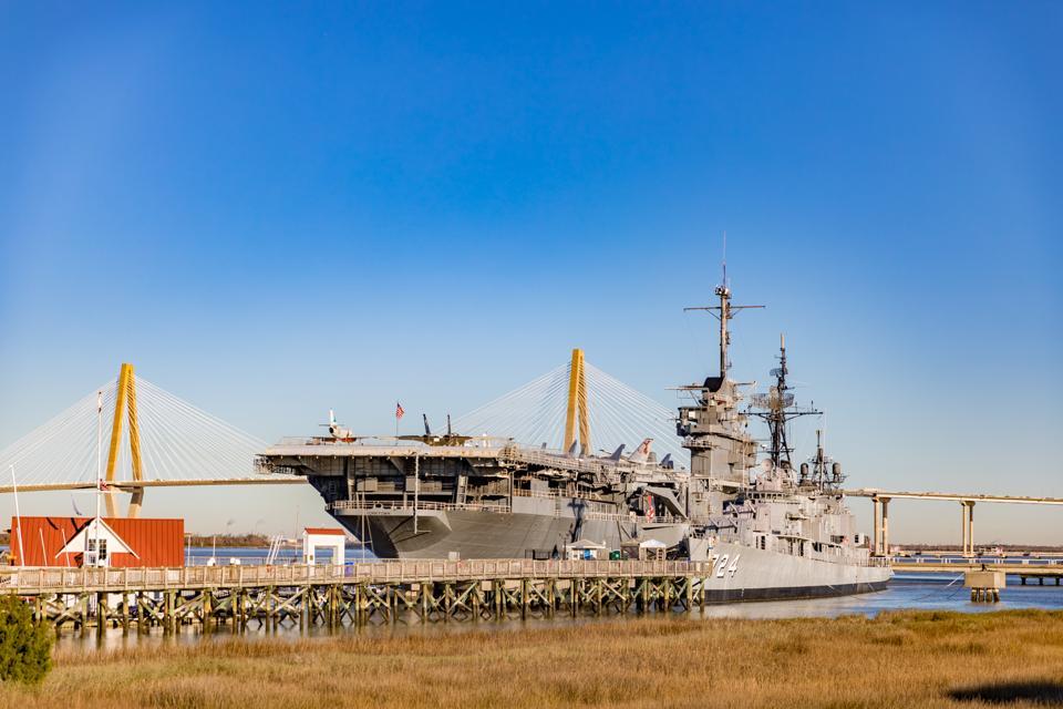 Charleston, SC - The USS Yorktown