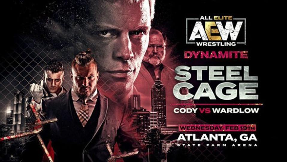 Cody Wardlow Steel Cage AEW Dynamite WWE NXT