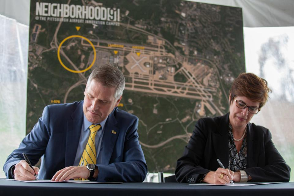 Signing memo creating Neighborhood 91.