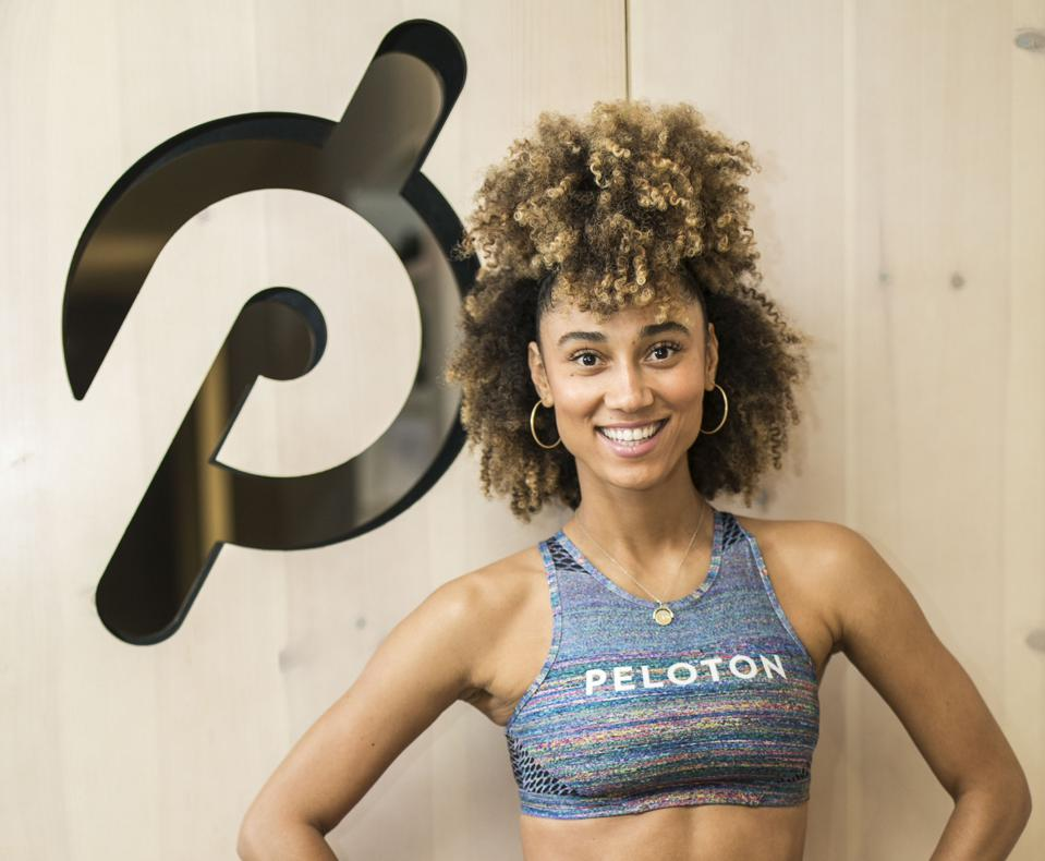 Peloton instructor Ally Love, Photo Credit: Courtesy of Peloton