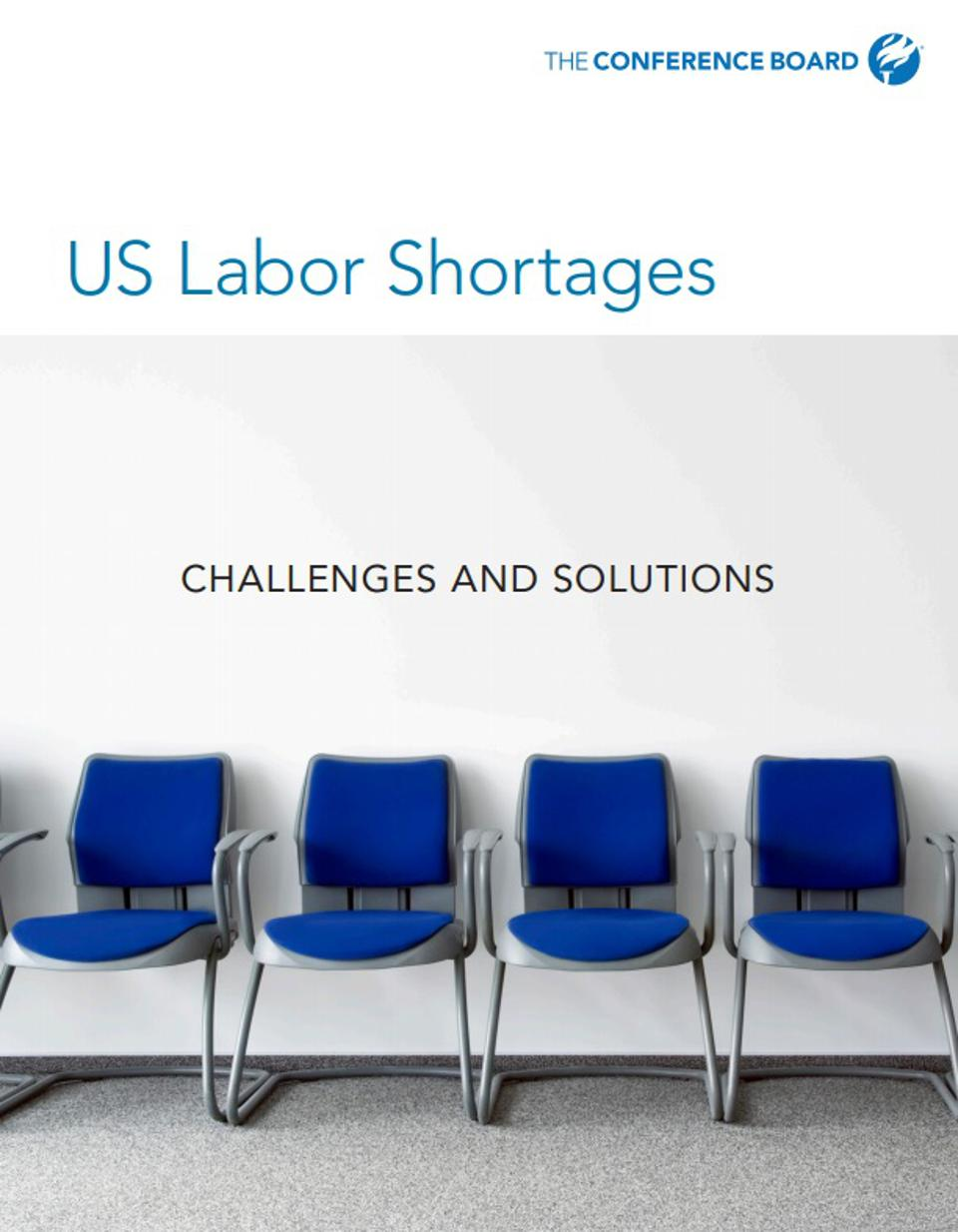 US Labor Shortages report by The Conference Report