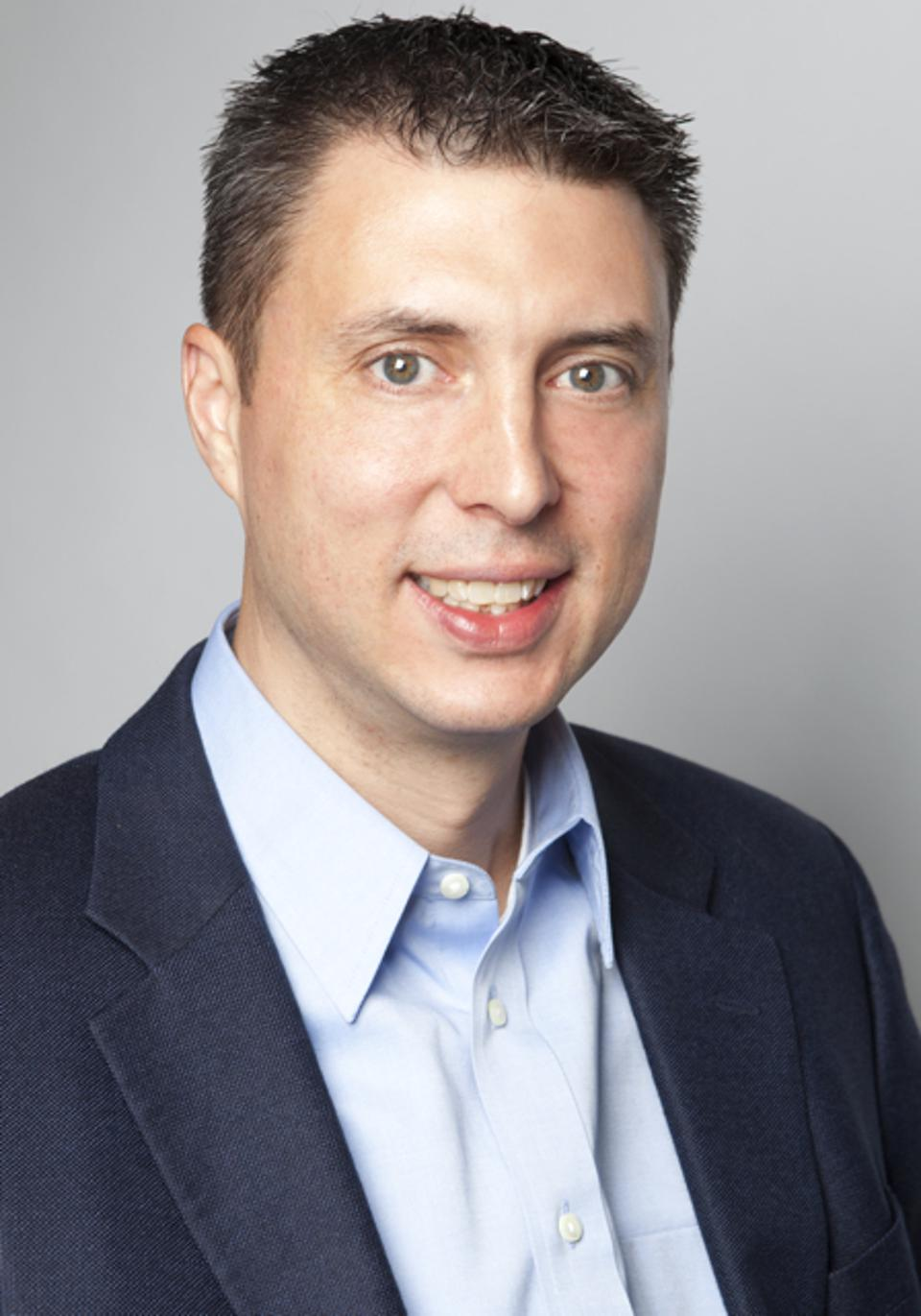 Nathan Feather, CFO of PrimeRevenue