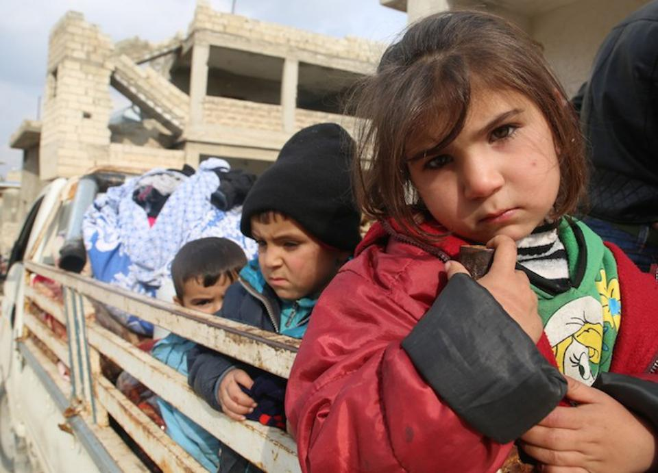 Desperate Times For Children And Families In Syria