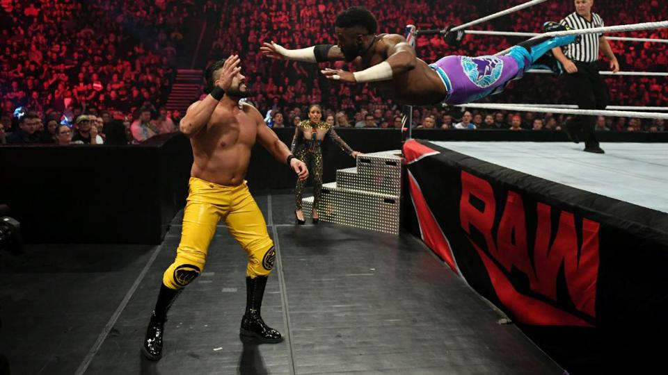 WWE Raw: Cedric Alexander vs. Andrade