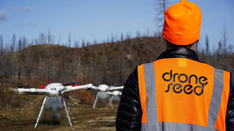 DroneSeed in action