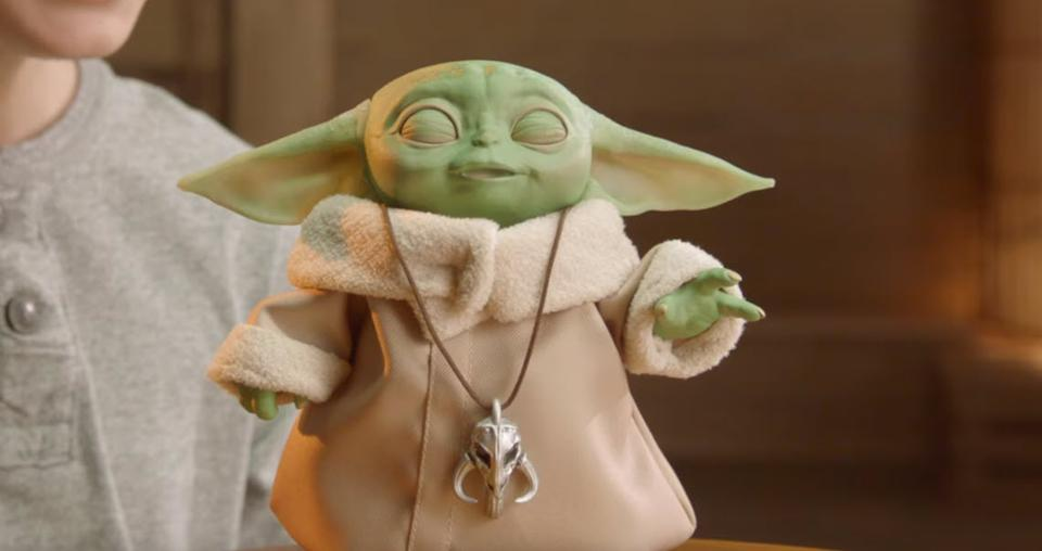 Hasbro's Robot Baby Yoda Can Do The Magic Hand Thing For Only $60, Pre-Order Here