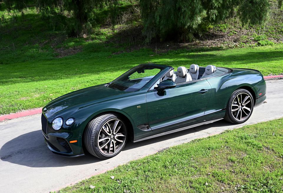Test Drive: 5 Things To Love About The 2020 Bentley Continental GT V8 Convertible