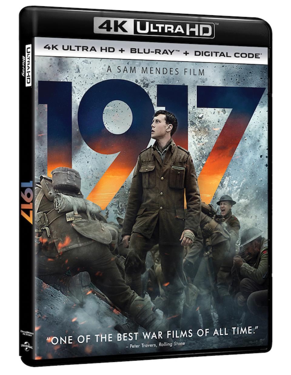 '1917' 4K Blu-Ray Details Announced - Complete With Universal HDR Support
