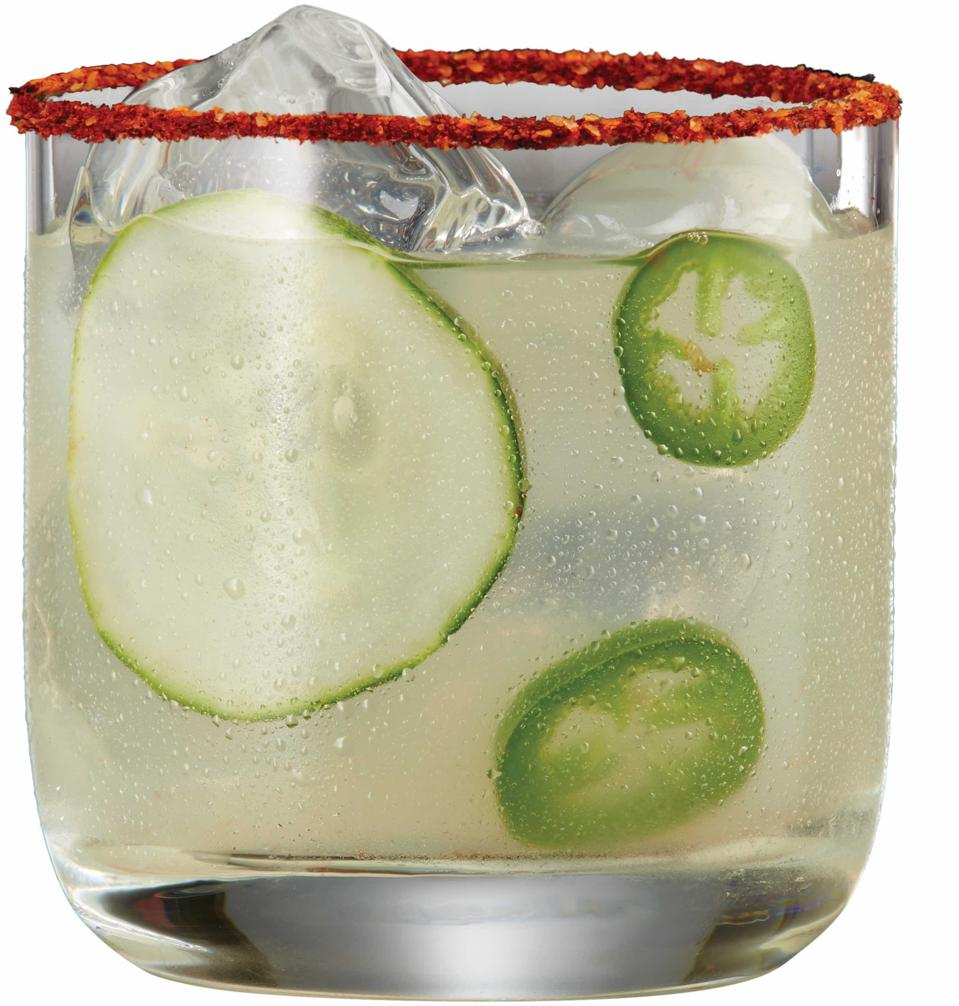 Spicy Cucumber Jalapeno Margarita