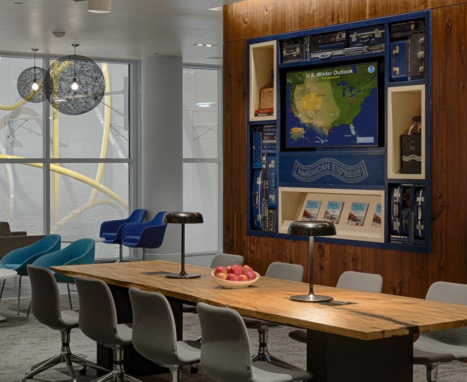 Amex Centurion CLT workspace