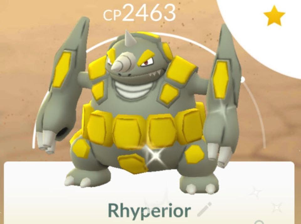 Pokémon GO Rhydon Community Day: How To Get A Shiny, Powerful Rhyperior
