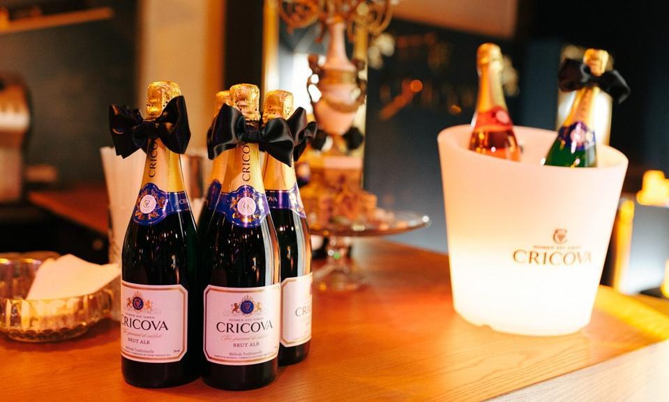 Cricova sparkling wine