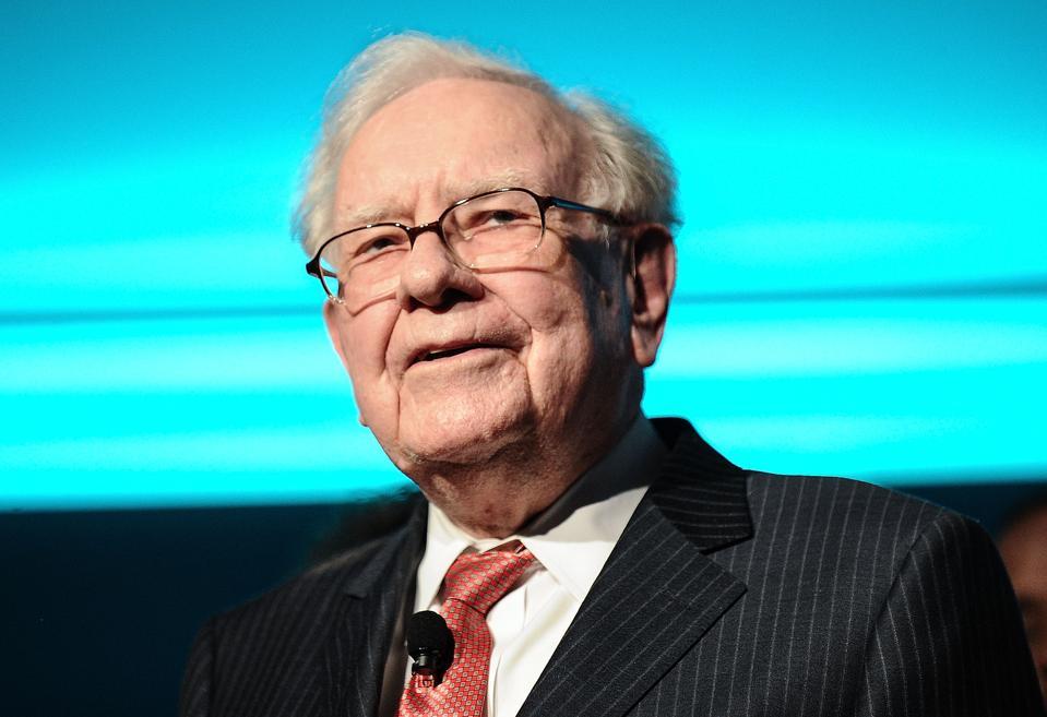Philanthropist Warren Buffett.