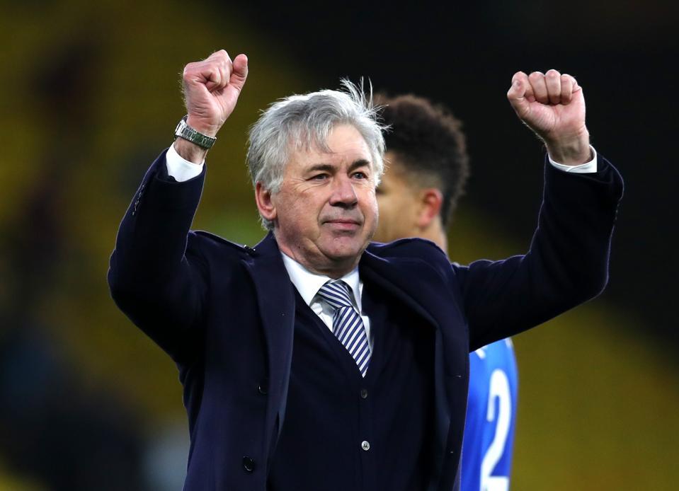 Watford FC v Everton FC - Premier League Carlo Ancelotti