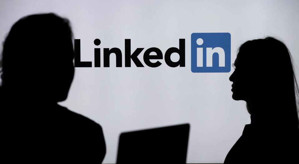 LinkedIn with job hunter and recruiter