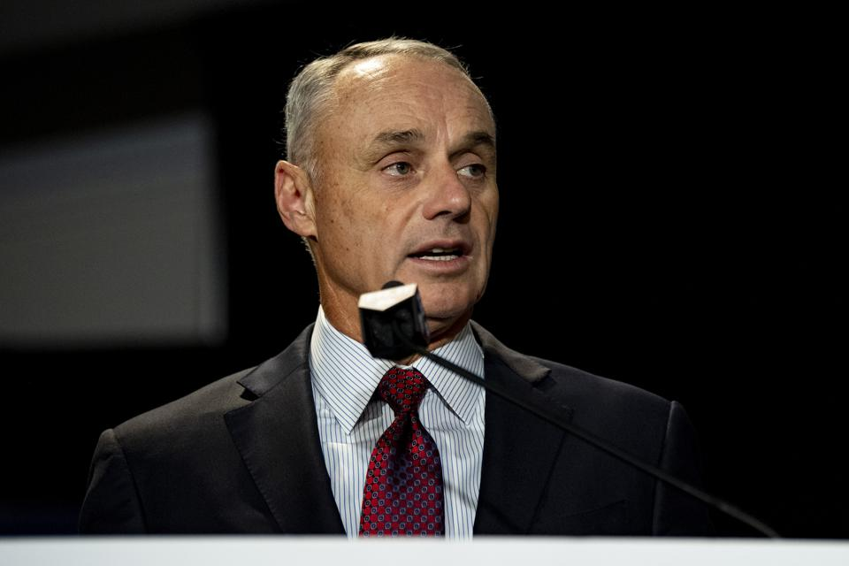 Major League Baseball Commissioner Rob Manfred.