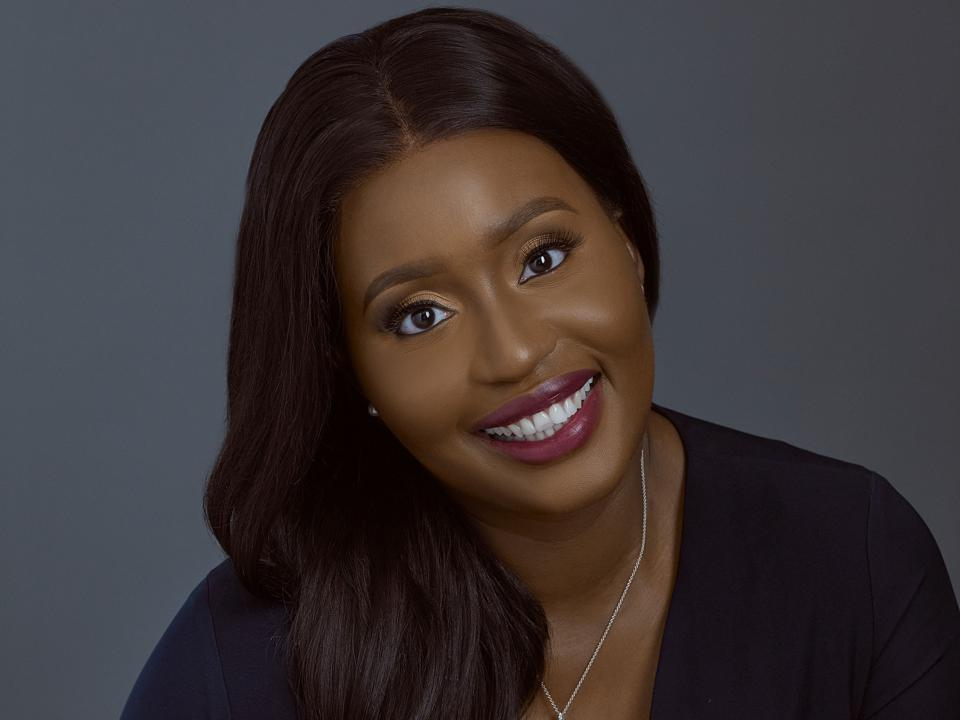 Portrait of a young Nigerian woman