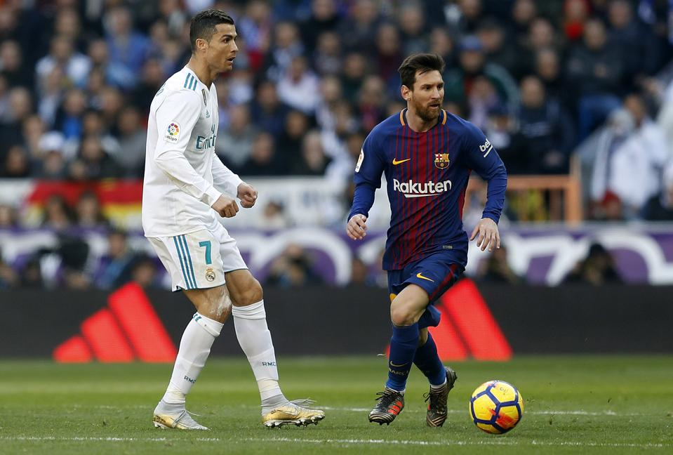 Lionel Messi And Ronaldo Locked In Battle To Become World S All Time Leading Scorer