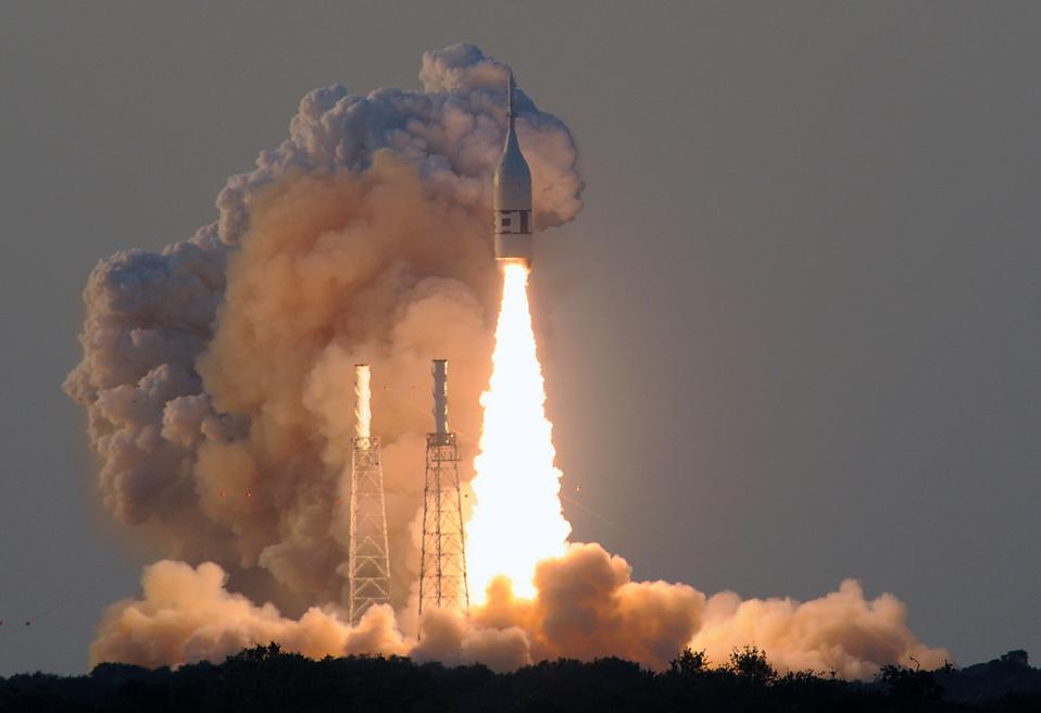 NASA Tests At Cape Canaveral