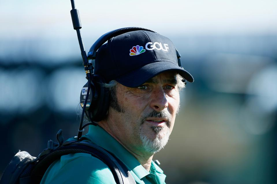 Feherty in his role as an on-course reporter