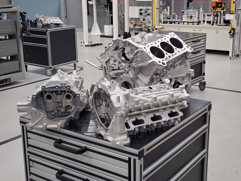 Acura NSX engine block