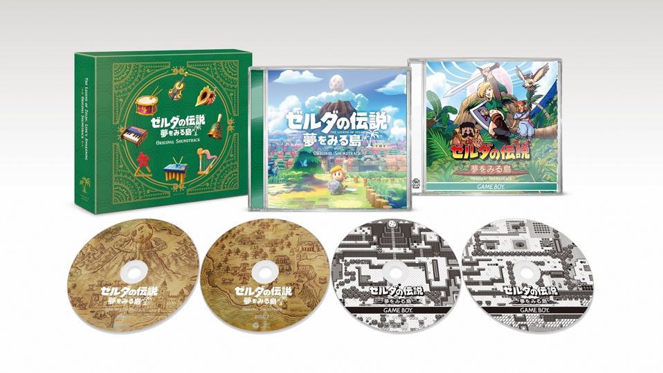 Zelda: Link's Awakening Soundtrack Boxset