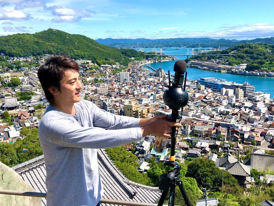 Kenta Toshima 360 camera VR