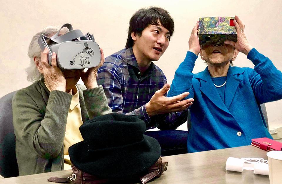 Kenta Toshima - VR Elderly experience