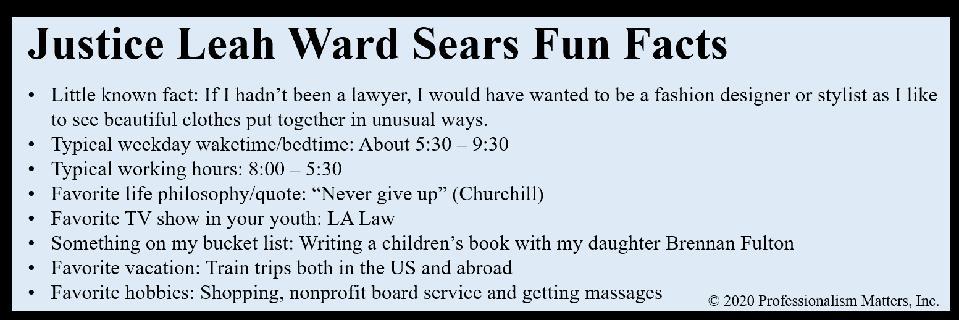 Sears Fun Facts