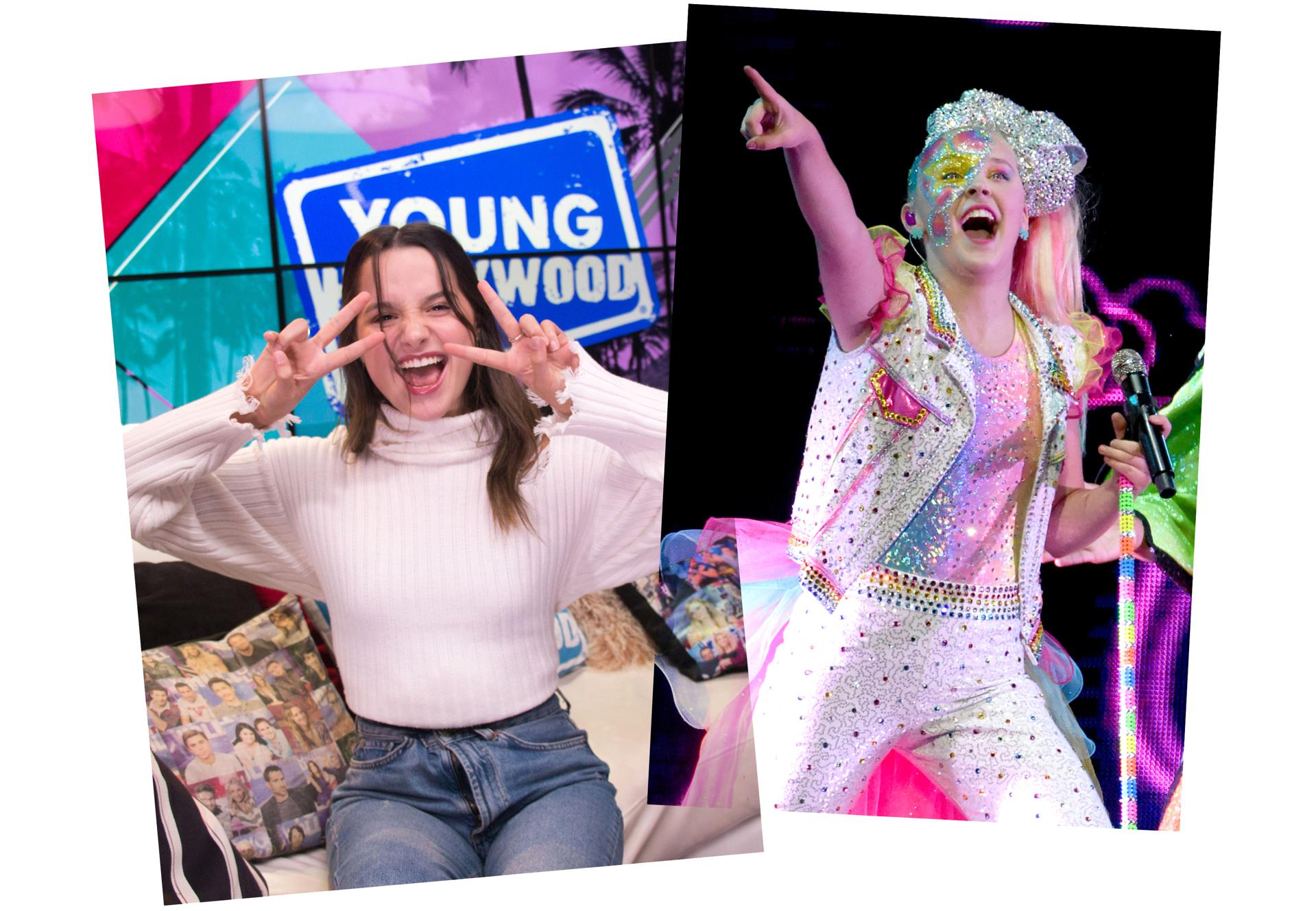 Nickelodeon Annie LeBlanc, YouTube series Chicken Girls, and Dance Moms' JoJo Siwa,