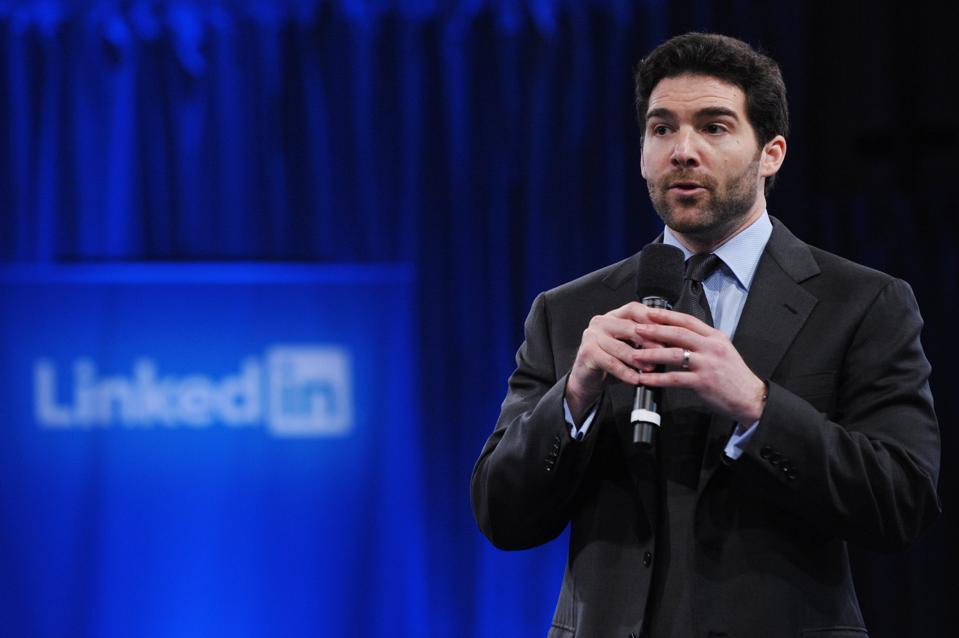 Interviewé par Jeff Weiner, PDG de Linkedin