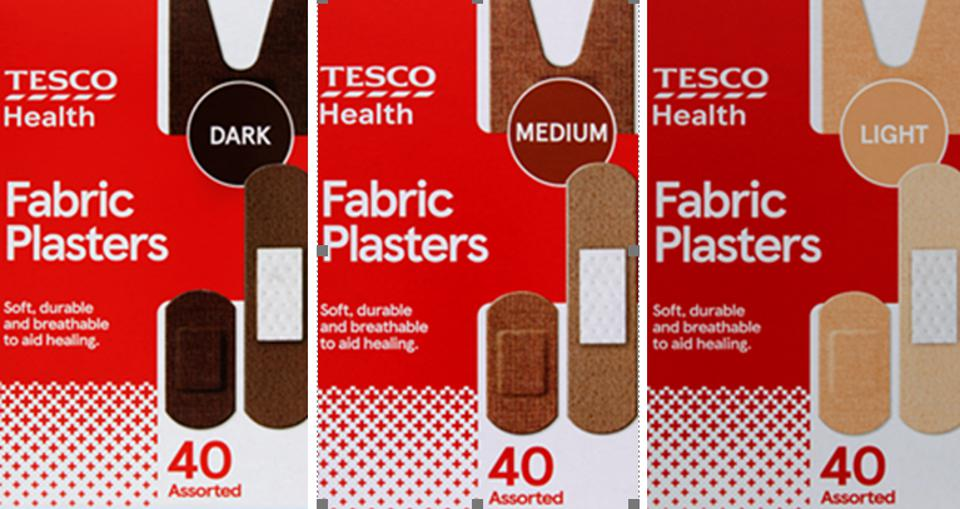 Tesco Skin Tone Fabric Plasters Launched