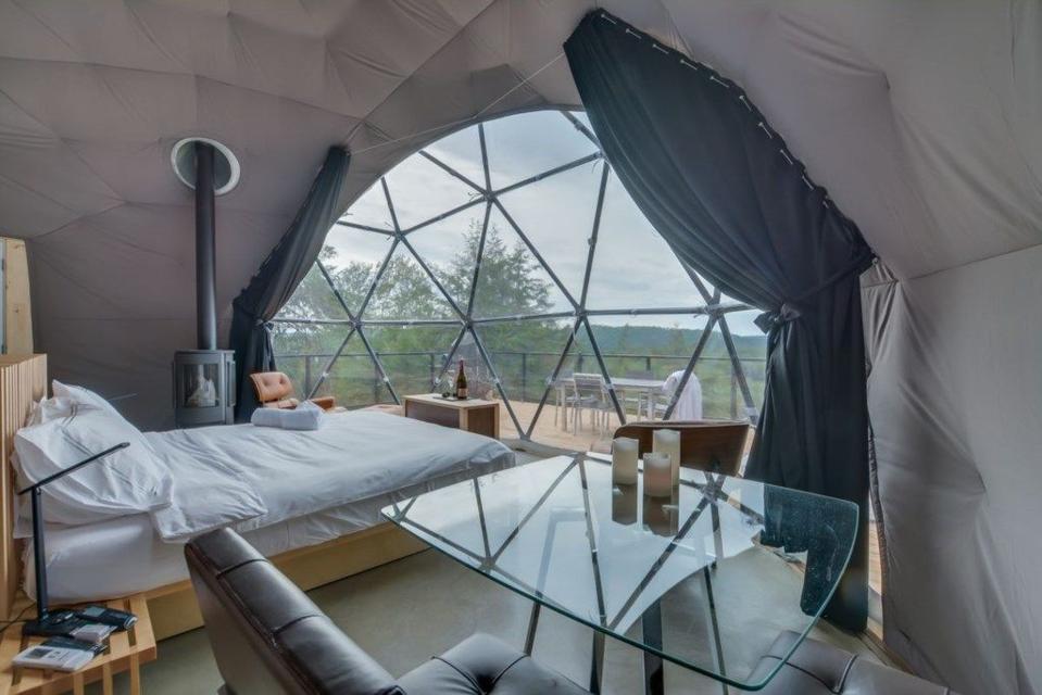love nest dome interior