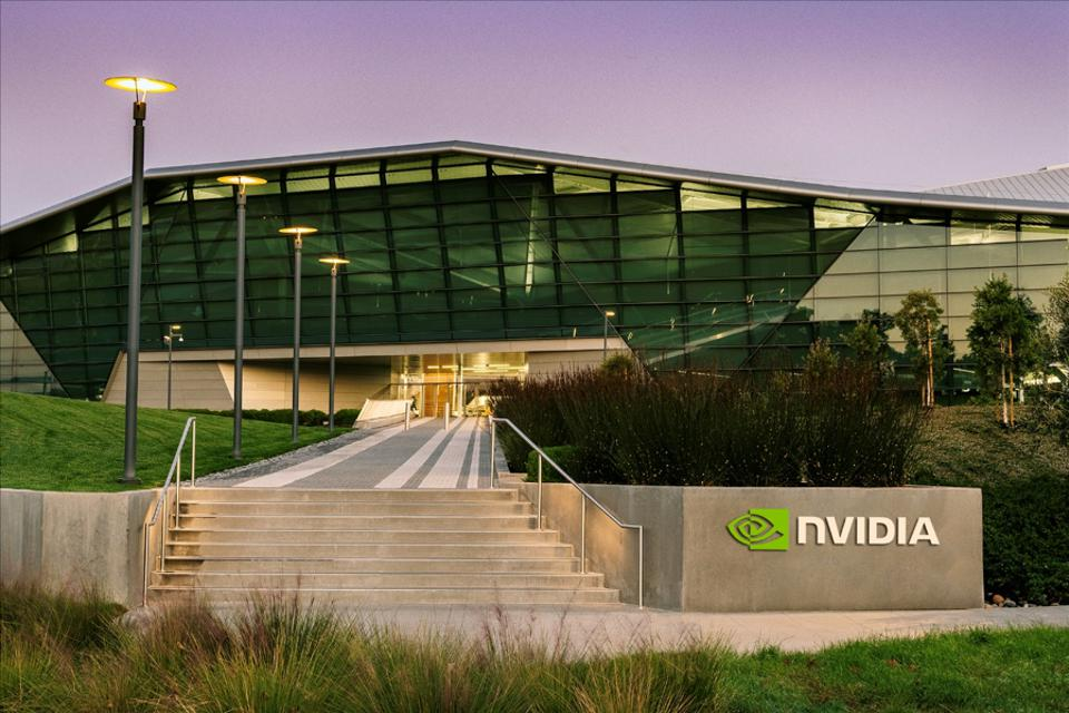 Figure 2: NVIDIA corporate HQ, Endeavor, one of Silicon Valley's most impressive edifices. A second even larger building is nearing completion next door.