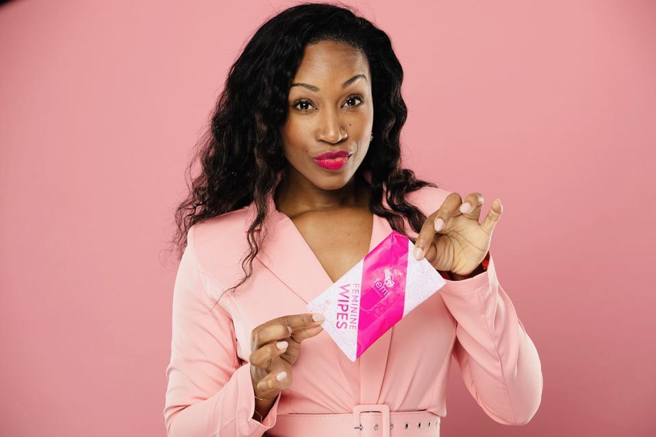 Davielle Jackson, Femi Secrets, feminine hygiene, menstruation pads,