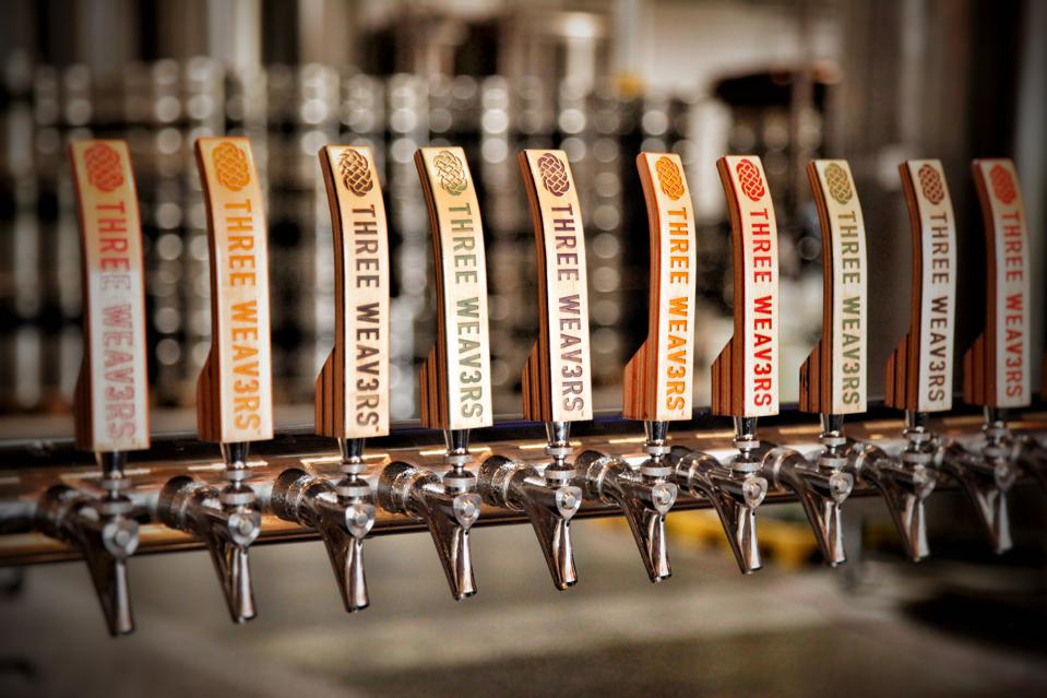 Three Weavers tap handles