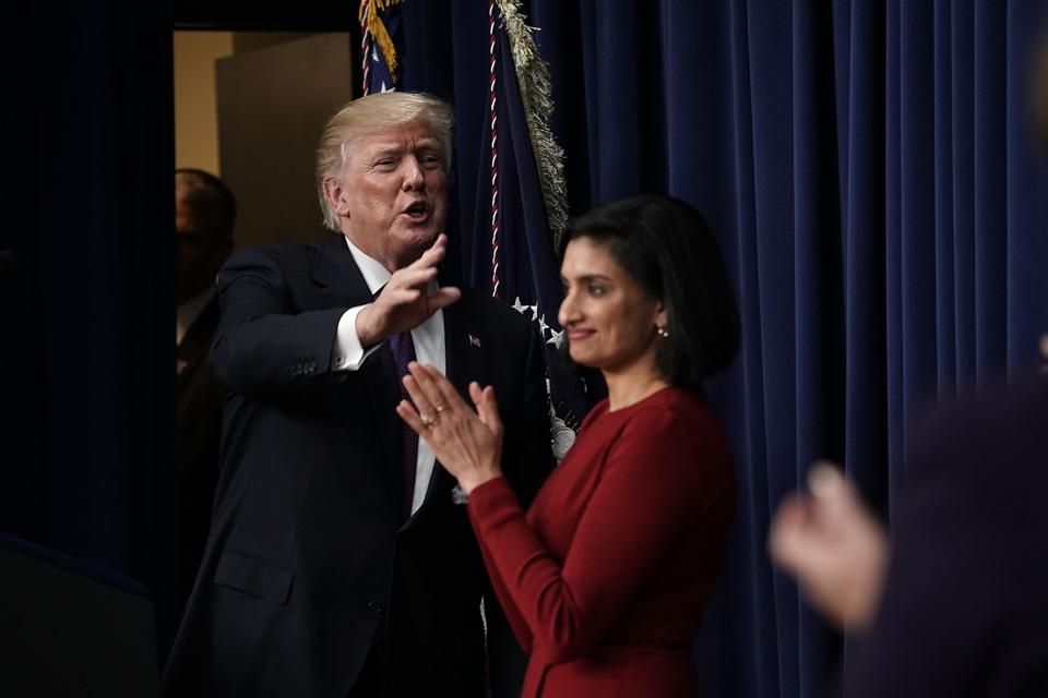 Even With No Plan Of His Own, Trump Attacks Sanders 'Medicare For All'