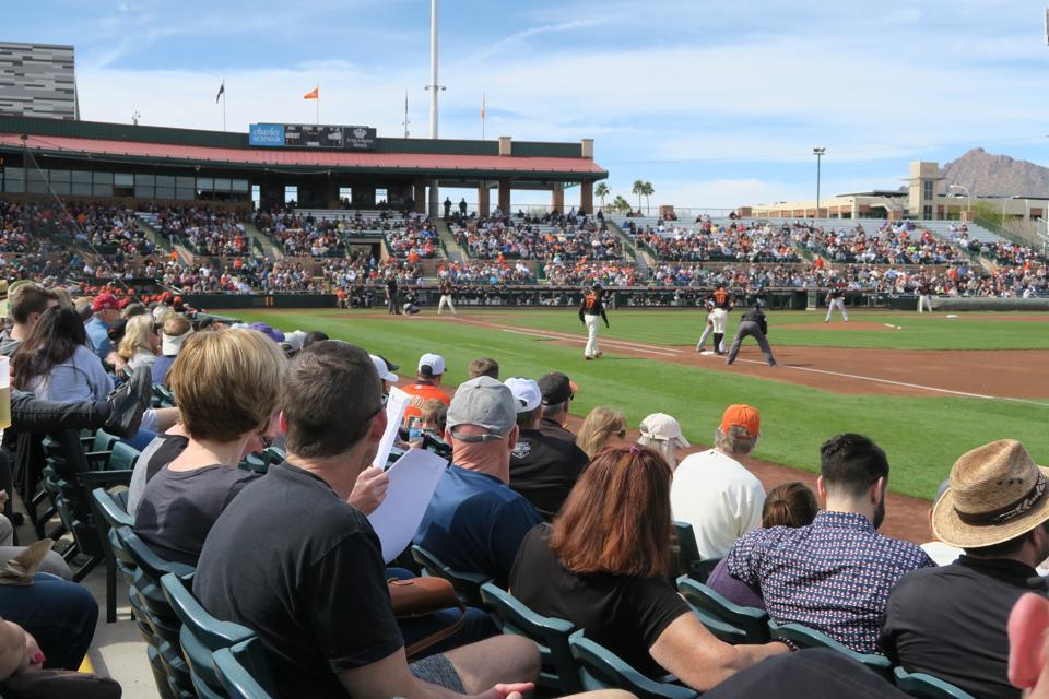 mlb spring training baseball arizona