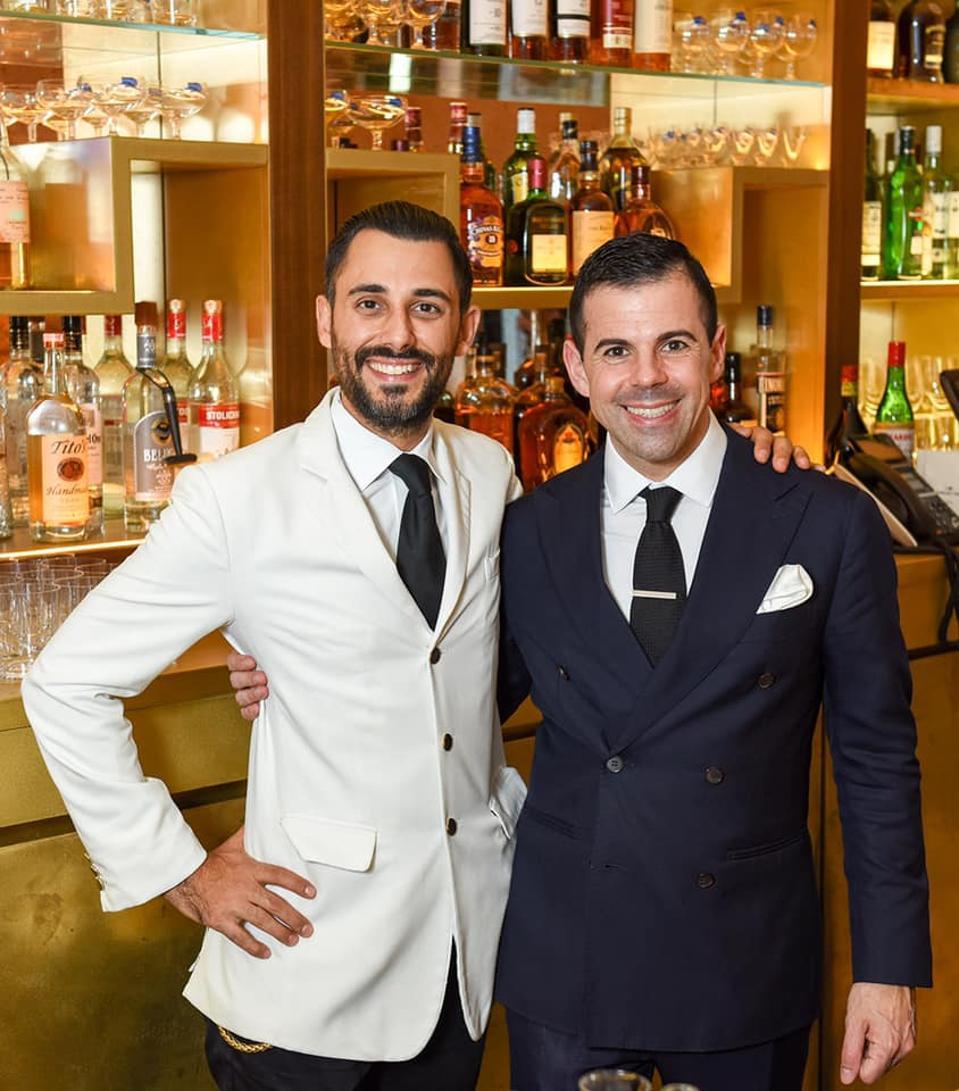 Valentino Longo and Agostino Perrone