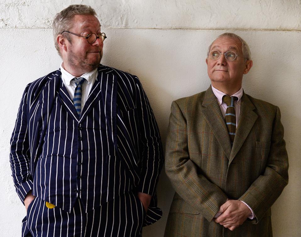 Fergus Henderson and Trevor Gulliver of St. John restaurant in London