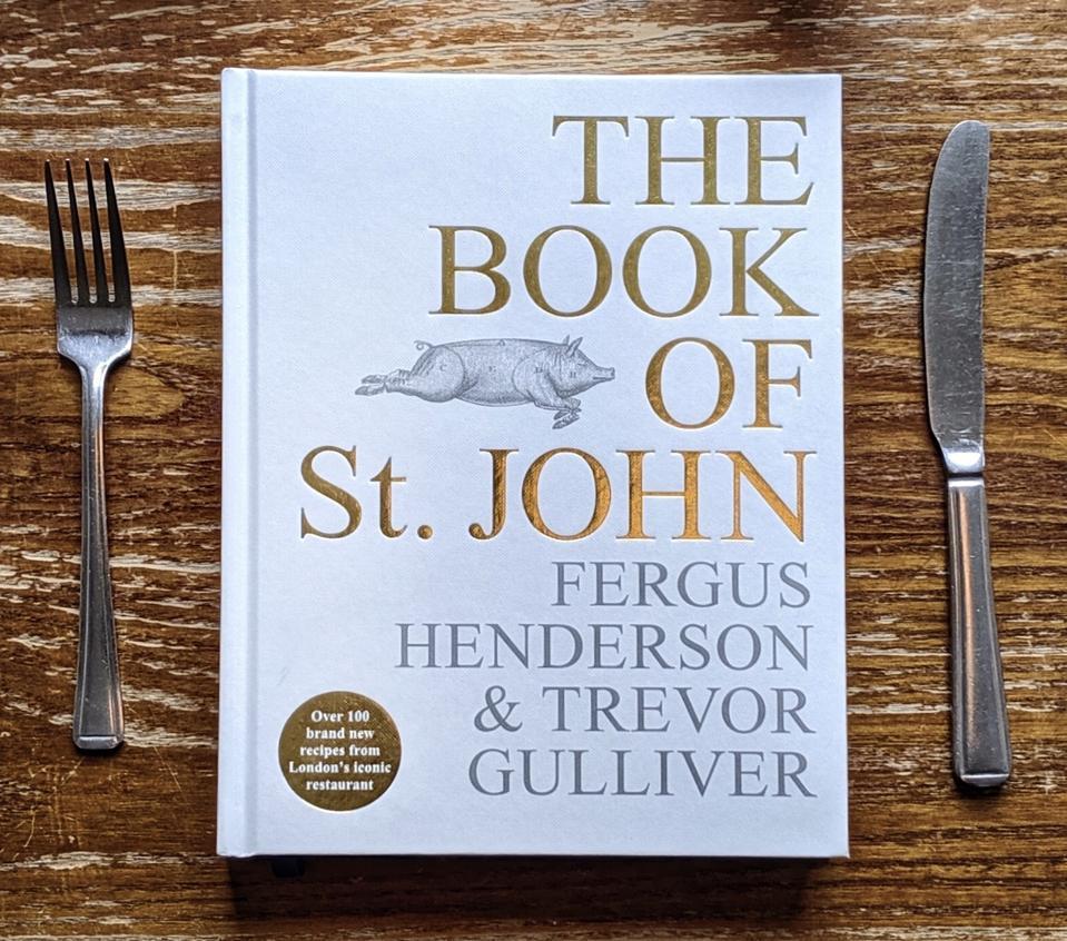The Book of St. JOHN cookbook