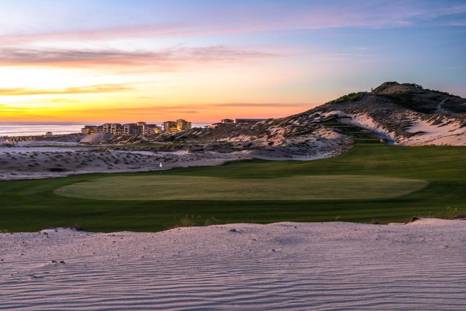 16th hole - Rancho San Lucas